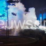 Auto brandt uit aan de Emmensstraat in Emmen