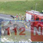Meerdere doden bij zwaar ongeluk op de N34 bij Borger